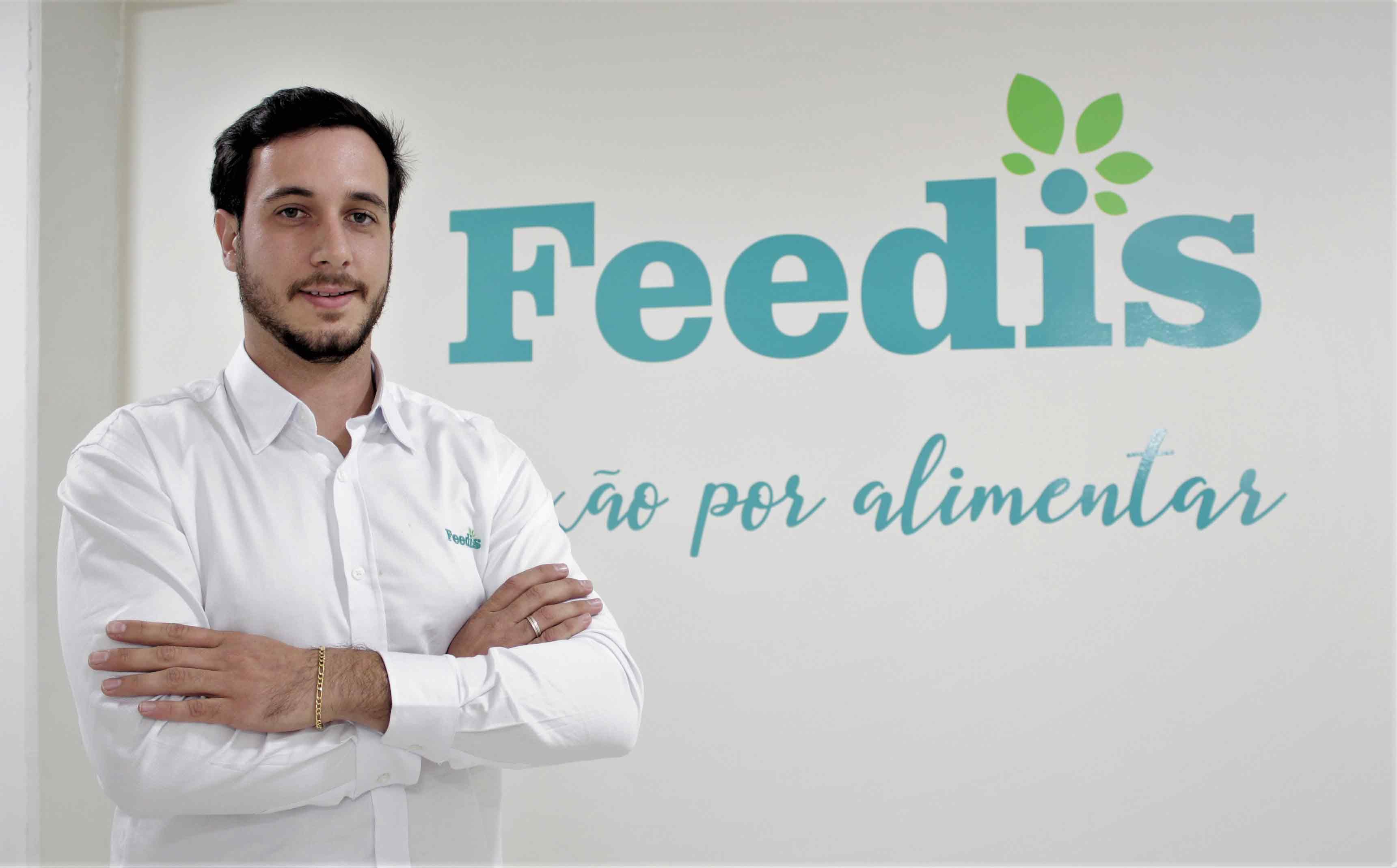 Felipe chega para somar e dar todo o suporte para os clientes Feedis®